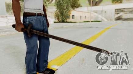 Skyrim Iron Sword pour GTA San Andreas