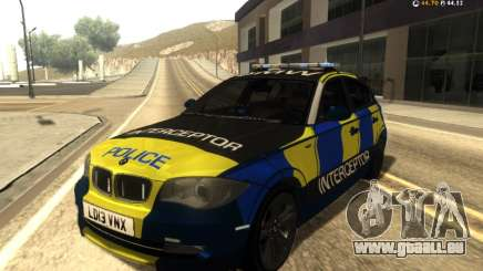 BMW 120i SE UK Police ANPR Interceptor für GTA San Andreas