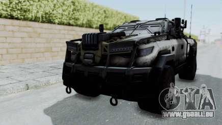 Advanced Warfare Tactical Pickup pour GTA San Andreas