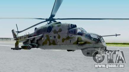 Mi-24V Soviet Air Force 14 für GTA San Andreas