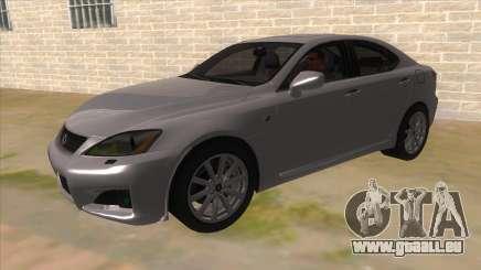 Lexus ISF pour GTA San Andreas