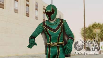 Power Rangers Mystic Force - Green für GTA San Andreas