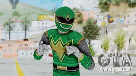 Power Rangers Ninja Storm - Green pour GTA San Andreas