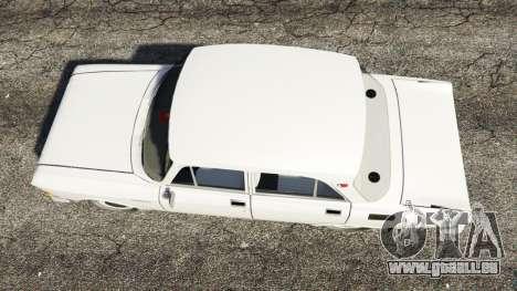 GTA 5 AZLK-2140 Moskwitsch Rückansicht