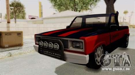 Mazda Tow Truck Pickup für GTA San Andreas