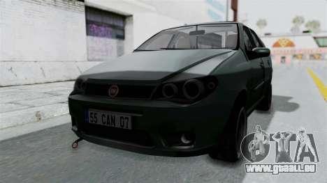 Fiat Albea für GTA San Andreas rechten Ansicht