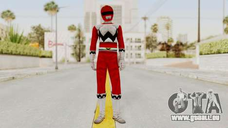 Power Rangers Lost Galaxy - Red für GTA San Andreas zweiten Screenshot