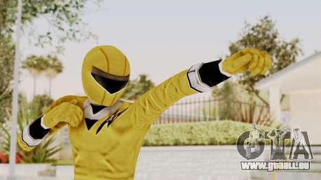 Alien Rangers - Yellow pour GTA San Andreas