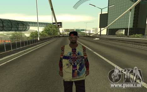 Grove Street Gang Member pour GTA San Andreas