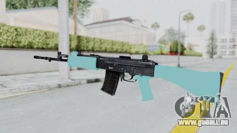 IOFB INSAS Light Blue für GTA San Andreas zweiten Screenshot