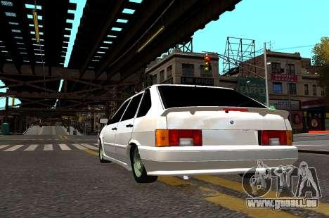 VAZ 2114 Brodyaga pour GTA 4 Vue arrière