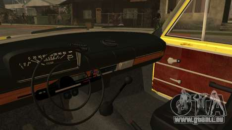 VAZ 2102 BK für GTA San Andreas Rückansicht
