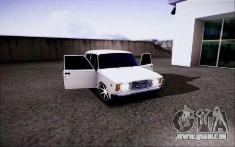 VAZ 2107 IVF für GTA San Andreas