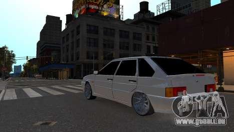 VAZ 2114 Brdoyaga pour GTA 4 Vue arrière