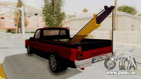 Mazda Tow Truck Pickup pour GTA San Andreas vue de droite