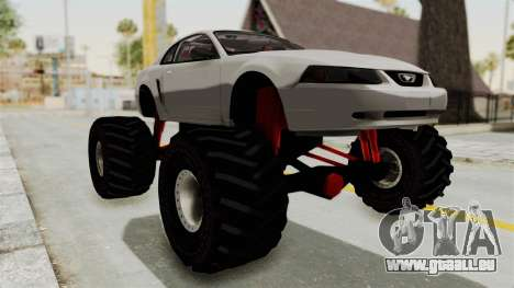 Ford Mustang 1999 Monster Truck pour GTA San Andreas vue de droite