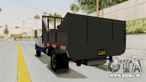 GMC Sierra 3500 für GTA San Andreas zurück linke Ansicht