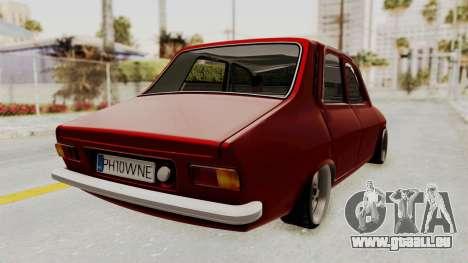 Dacia 1310 WNE pour GTA San Andreas laissé vue