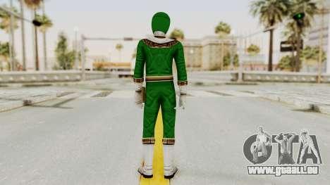 Power Ranger Zeo - Green pour GTA San Andreas troisième écran