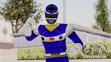 Power Rangers In Space - Blue pour GTA San Andreas