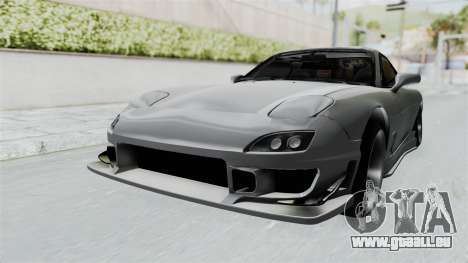 Mazda RX-7 FD3S HellaFlush pour GTA San Andreas vue de droite