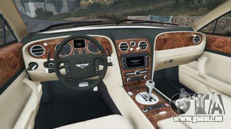 GTA 5 Bentley Continental Flying Spur 2010 hinten rechts