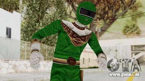 Power Ranger Zeo - Green pour GTA San Andreas