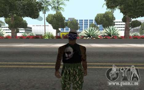 San Fierro Rifa Member pour GTA San Andreas deuxième écran