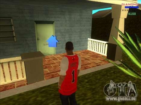 Chequer maisons pour ARP pour GTA San Andreas sixième écran