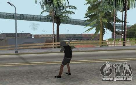 Nouveau bum pour GTA San Andreas troisième écran