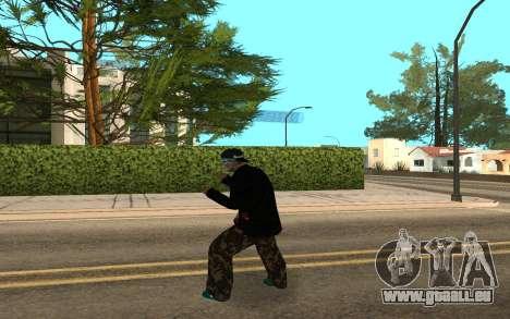 Varios Los Aztecas Gang Member v5 pour GTA San Andreas troisième écran