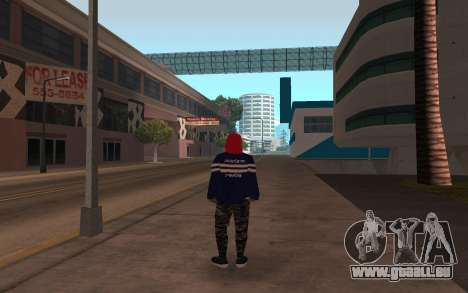 De nouveaux sans-abri v3 pour GTA San Andreas deuxième écran