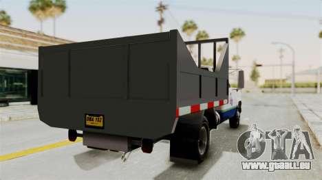 GMC Sierra 3500 pour GTA San Andreas laissé vue