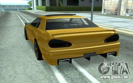 Elegy pour GTA San Andreas sur la vue arrière gauche