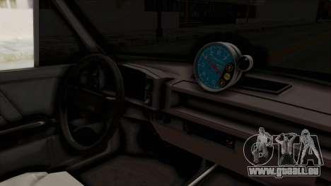 Fiat 128 De Picadas pour GTA San Andreas vue intérieure