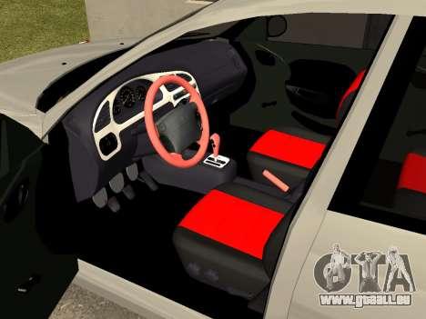 Daewoo Lanos (Sens) 2004 v1.0 by Greedy pour GTA San Andreas vue intérieure