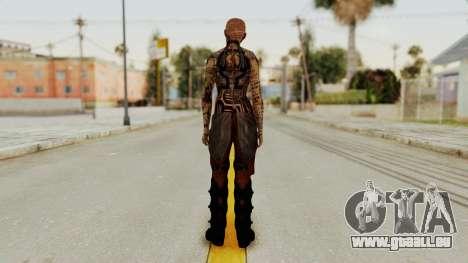 Mass Effect 2 Jack für GTA San Andreas dritten Screenshot