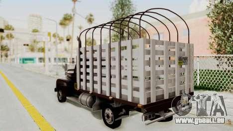 Ford 49 Con Estacas pour GTA San Andreas laissé vue