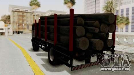 FAP Kamion za Prevoz Trupaca pour GTA San Andreas sur la vue arrière gauche