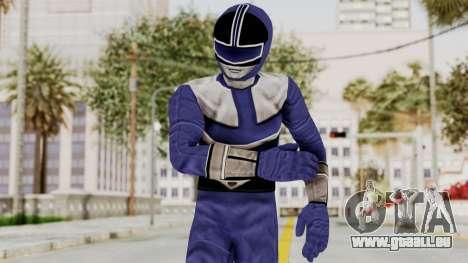 Power Rangers Time Force - Blue für GTA San Andreas