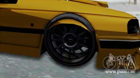 Peugeot Pars Full Sport pour GTA San Andreas vue arrière