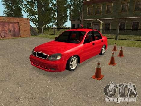 Daewoo Lanos (Sens) 2004 v1.0 by Greedy für GTA San Andreas Unteransicht
