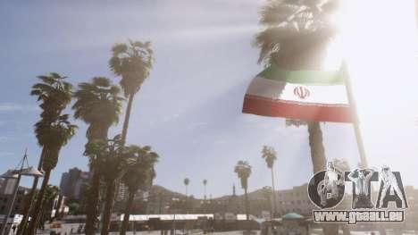 Iranian Flag pour GTA 5