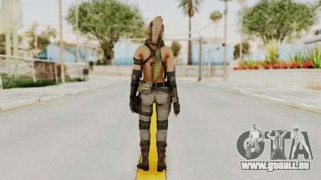 Victoria Kanayeva from Phantomers pour GTA San Andreas troisième écran