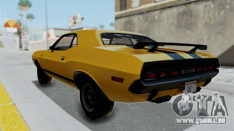 Dodge Challenger RT 440 1970 Six Pack für GTA San Andreas linke Ansicht