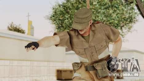 MGSV Phantom Pain CFA Soldier v2 pour GTA San Andreas