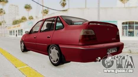 Daewoo Cielo 1.5 GLS 1998 pour GTA San Andreas vue de droite