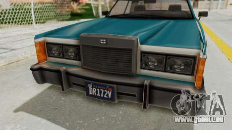 GTA 5 Dundreary Virgo Classic IVF für GTA San Andreas Innenansicht