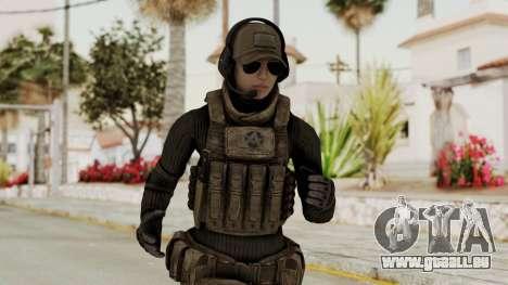 Phantomers Linda Sashantti Soldier pour GTA San Andreas