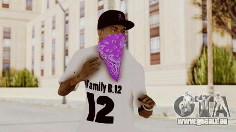 New Skin Bmyst 12 für GTA San Andreas
